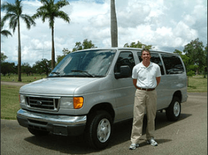 South Florida Van Service from West Palm Beach to Miami