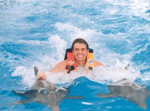 Cozumel Dolphin Royal Swim Mexico