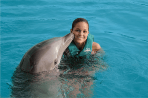 Dominican Republic Trained and Natural Dolphin Swim Programs