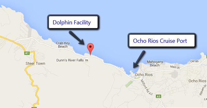 Ocho Rios Map