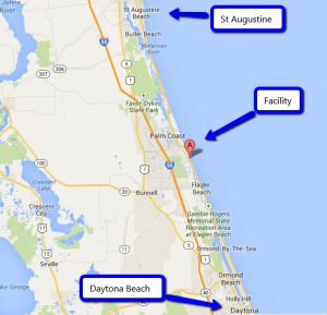 St Augustine Dolphin Facility Map