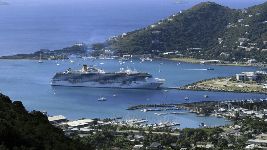 Cruise Ships on Tortola