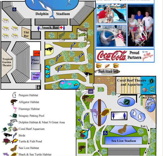 Panama City Beach Park Layout