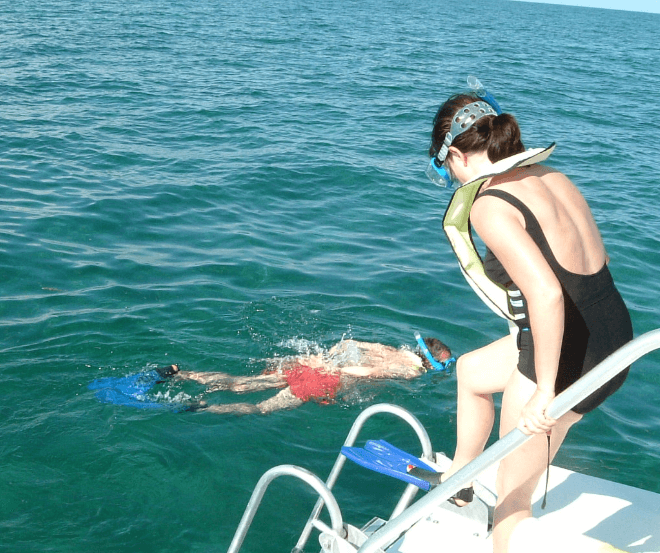 Snorkeling is part of 1 Day Dolphin Swim Mini Workshop
