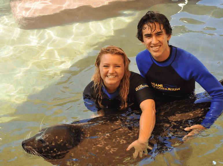 Happy Couple Seals Miami FL