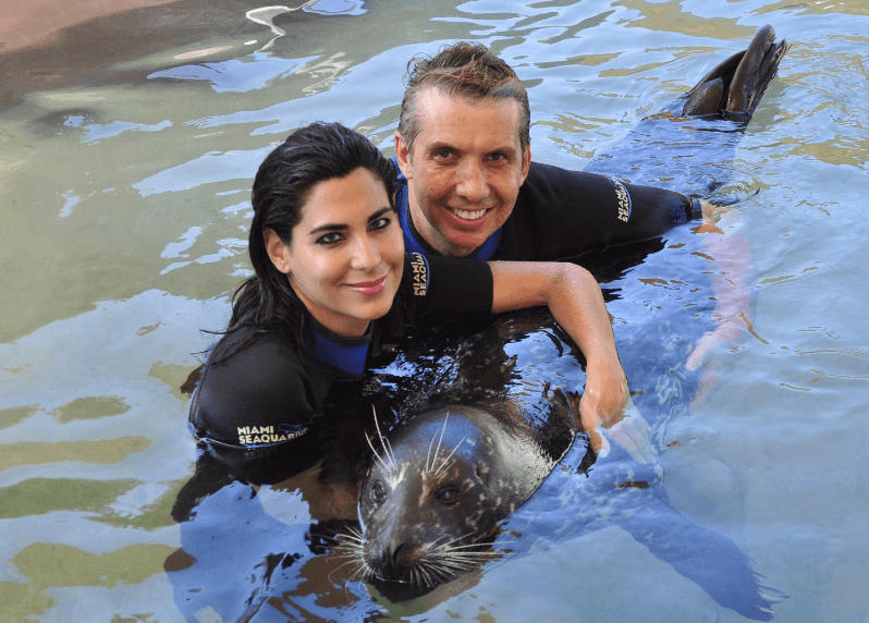 Me and My love Seal Swim Miami FL