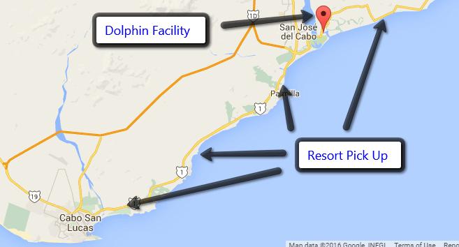 Resort Pick Up Locations in Los Cabos Area