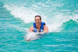 Dolphin Swim adventure belly ride oahu hawaii