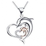 Heart Pendant Rose gold
