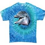 Dolphin tie Dye Blue