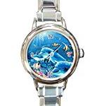 dolphin charm watch