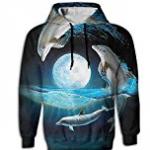 Dolphin Moon Sweatshirt