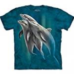dolphin jumping tee shirt