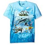 Dolphin Liquid Blue Tee Shirt