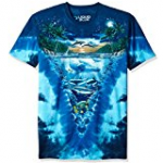 dolphin night time dolphin tee
