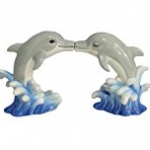 dolphin salt and pepper shaker