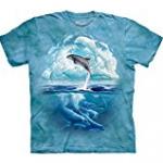 dolphin sky tee shirt