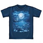 dolphin moon tee