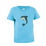 dolphin toddler tee